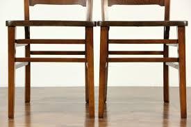 Craftsman Stool And Table Set Sold Set Of 6 Arts Crafts Mission Oak 1900 Antique Craftsman