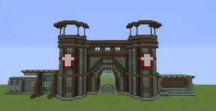 minecraft gate.  Minecraft Medieval Gate And Minecraft M
