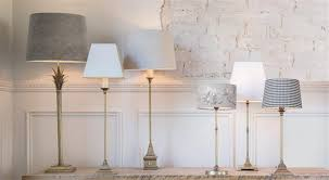 how to size table lampshades