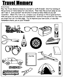 Small Picture Travel Games Free Coloring Pages crayolacom