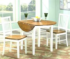 incredible round drop leaf table white drop leaf kitchen table and chairs