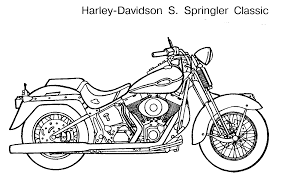 Motorcycle coloring pages print get coloring pages
