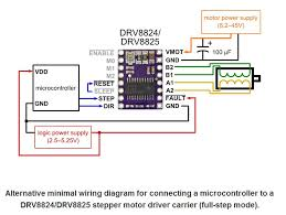 drv8825 stepper motor driver carrier high current 2133 pololu alternative wiring diagram