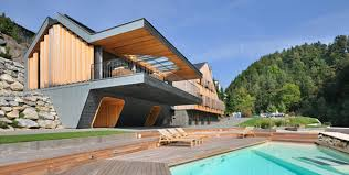 modern home architecture stone. Timber Home Designs Superform 1 Progressive Architecture And Stone Two Homes In One Design Modern