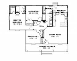 7 fancy house plan for three bedroom bungalow