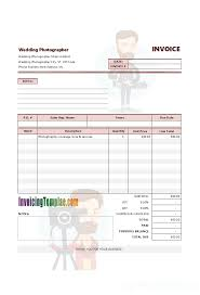 Invoice Template For Photographers Ato Invoice Examples