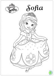 Small Picture Sofia the first Coloring page Coloring Pages Pinterest