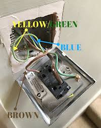 an easy guide on how to change over a light switch plate melanie your brown wire is your power into the switch plate known as the live wire in proper electrical jargon