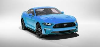 mustang blue 2018. the 2018 mustang came in grabber blue? blue a