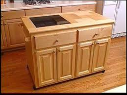 Build Your Own Rolling Kitchen Island