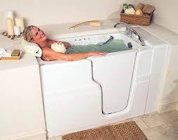 walk in tub get designed for seniors hydrotherapy quality safety bathtub elderly