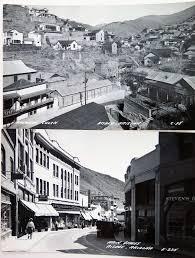 2 vine 1930 s bisbee arizona real photo postcards brewery gulch main street