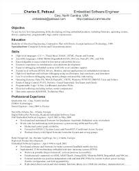 Software Engineer Resume Examples Unique Top 28 Embedded Systems Engineer Resume Samples Resume Cover Letter