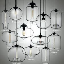 designer glass pendant lights and bowl ceiling lamp modern hanging with light fixture for antique nostalgic bulb ce