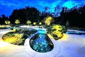 swimming pool lighting ideas. Pool Lighting Ideas Landscape Outdoor . Swimming