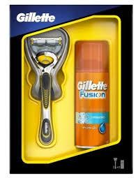 <b>Набор Gillette</b> гель для бритья <b>Fusion</b> Hydrating, бритва <b>Fusion</b> ...
