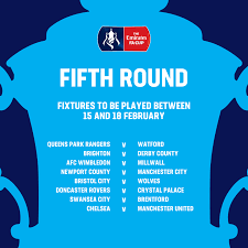 736 clubs were accepted and it began with the extra preliminary round on 10th august 2019 and concludes with the. Confirmed Fifth Round Fixtures Most The Emirates Fa Cup Facebook