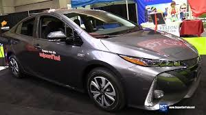 2018 toyota electric car. delighful toyota 2018 toyota prius prime plug in hybrid  exterior interior walkaround  2017 montreal electric vehi and toyota electric car r