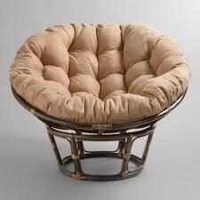 Bamboo Papasan Chair | Papasan Chair Cushion | Rattan Papasan Chair with  Cushion
