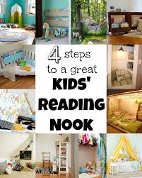 Chic Steps To A Kids Reading Nook Via Steps To A Reading Nook Tipsaholic in  Reading