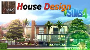 Small Picture THE SIMS 4 House design tour Modern Tropicana YouTube