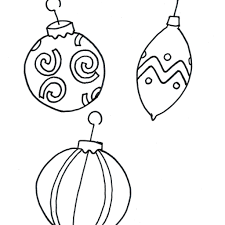 Image Christmas Caterpillar Coloring Pages Printable Ornament