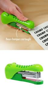 cool handy office supplies. Alligator Stapler // Chomp Chomp! #productdesign #emotionaldesign. Office FunStationery Cool Handy Supplies