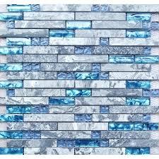 kitchen backsplash glass tile blue. Blue Glass Backsplash Tiles Tile Kitchen Contemporary With Glossy Black