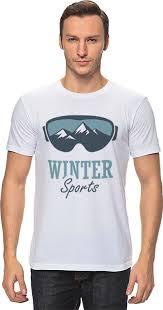 <b>Футболка классическая Printio</b> Зимний Спорт (<b>Winter</b> Sport ...