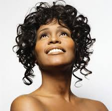 Whitney Houston Hairstyles Whitney Houston Curly Hairstyle Whitney Get Free Printable