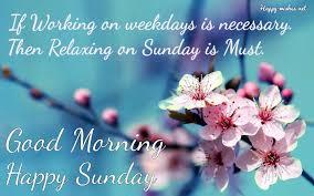 good morning happy sunday es