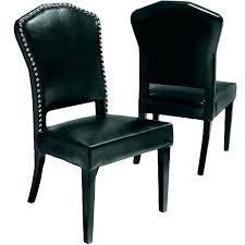 gl dining table and chairs black leather dining chairs black leather dining room