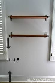 How High To Hang Floating Shelves
