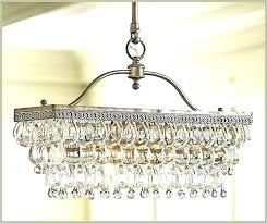 glass drop rectangular chandelier glass drop rectangular r rs linear clarissa linear rectangular glass drop chandelier