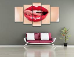 atfipan canvas wall art red lips abstract pictures watercolor sexy lips paintings on canvas unframed wall pictures for bedroom on wall art red lips with online shop atfipan canvas wall art red lips abstract pictures