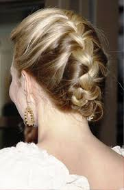 French Braid Updo Hairstyles French Braid Updo Hairstyles French Up High Bun Updo Hairstyle