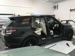 Quality Car Wrapping Car Wrap Range Rover Black Range Rover