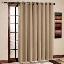 single panel curtain. Curtain For Door Luxury Insulated Blackout Sliding Patio Curtains In 5 Colors Single Panel O