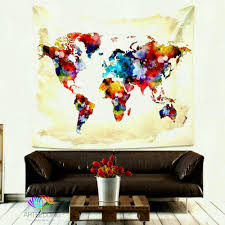 wall arts map art ideas canada world tapestry gorgeous watercolor etsy wood us and carved on on golf wall art canada with unique design golf wall decor tapestry etsy decoration ideas cozy