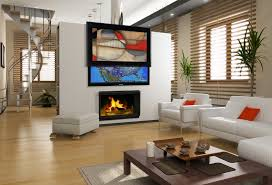 Living Room With Flat Screen Tv Nakicphotography