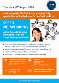 Speed Networking Ncphn