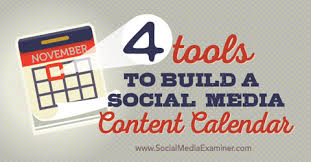 calender tools 4 tools to build a social media content calendar social media examiner