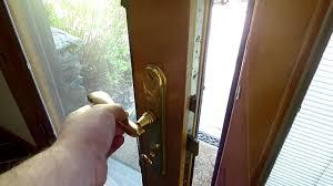 Decorating pella door repair pictures : Pella Lock - YouTube