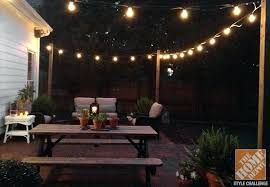 outdoor strand lighting. Outdoor Strand Lighting Lovable Patio String Ideas For Your Backyard Lights Ebay Uk .