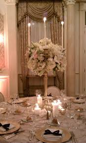 tabletop chandelier centerpieces image detail for creamy white gold candelabra centerpiece weddings
