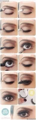 правильные стрелки на глазах выбираем и рисуем фото