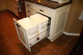 Trash Cabinet Pull Out Kitchen Can Drawer Kit