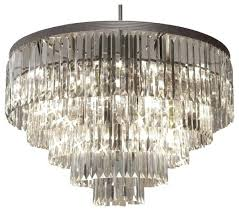 odeon crystal chandelier photo 3 of 4 the gallery crystal fringe 5 tier chandelier chandeliers superb odeon crystal chandelier 3