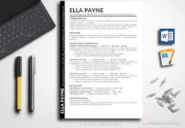 Resume Template Ella Payne