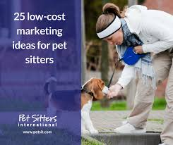 Pet Sitter Profile Examples Pet Sitter Marketing 25 Low Cost Ideas